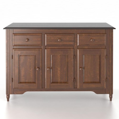 Canadel Custom Dining Customizable 48 Inch Buffet