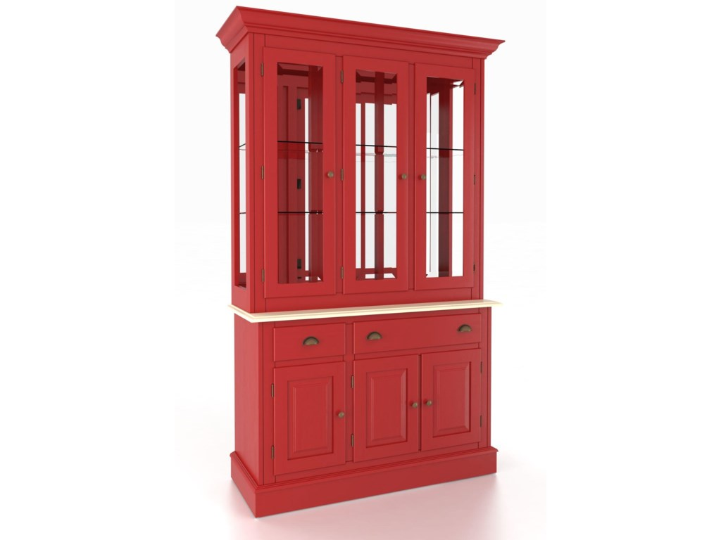 Canadel Custom Dining<b>Customizable</b> 48 Inch Buffet & Hutch