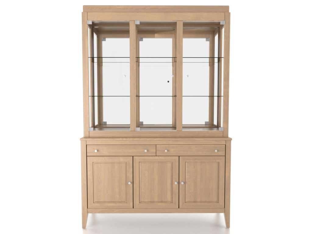 Canadel Custom Dining<b>Customizable</b> 54 Inch Hutch & Buffet