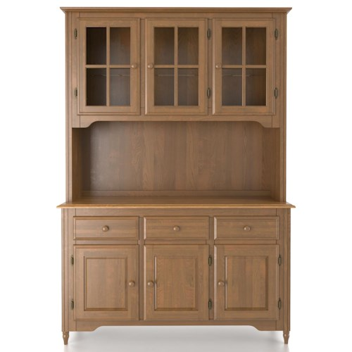 Canadel Custom Dining Customizable 54 Inch Buffet & Hutch
