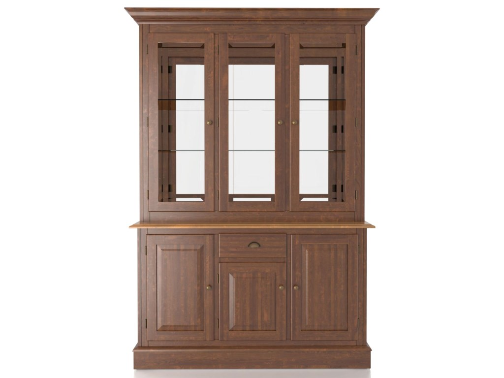 Canadel Custom DiningbCustomizable B 54 Inch Hutch Buffet