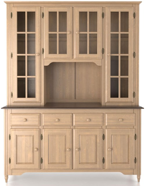 Canadel Custom Dining Customizable 60 Inch Buffet & Hutch