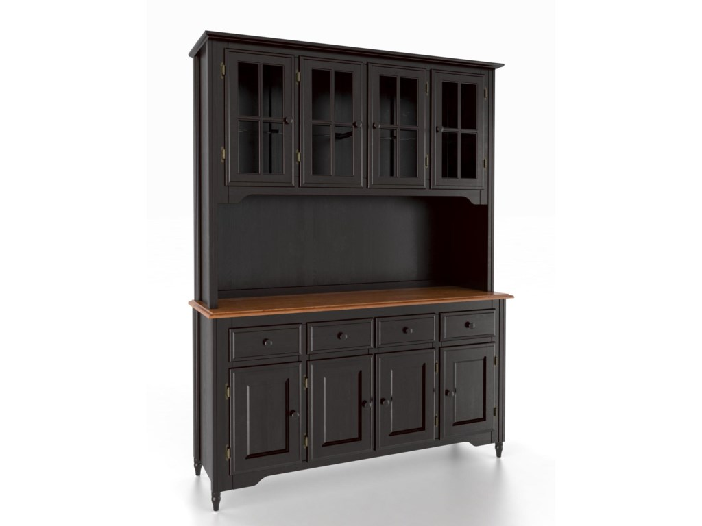 Canadel Custom Dining<b>Customizable</b> 60 Inch Buffet & Hutch