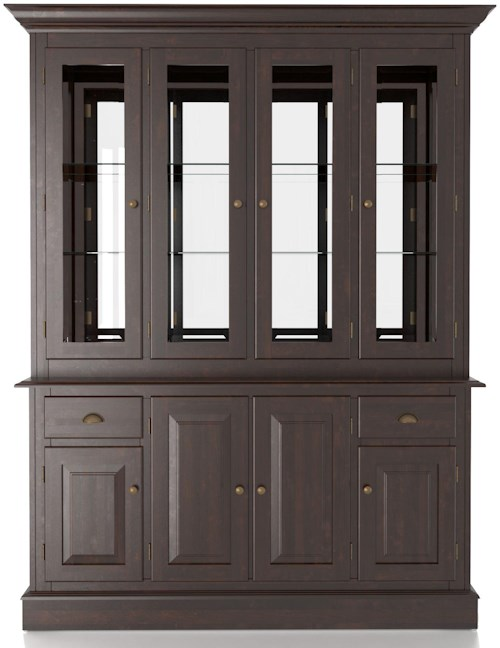 Canadel Custom Dining Customizable 60 Inch Hutch & Buffet China Cabinet