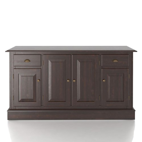 Canadel Custom Dining Customizable 60 Inch Buffet