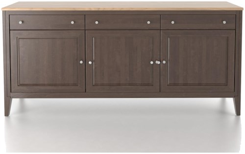 Canadel Custom Dining Customizable 72 Inch Buffet