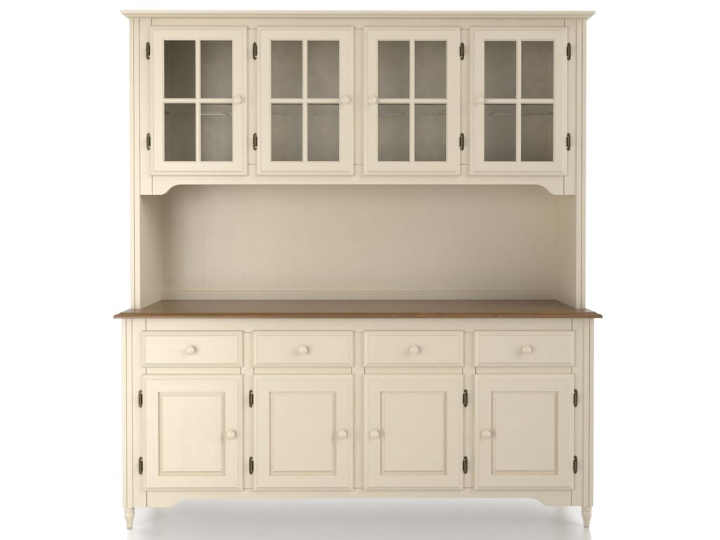 Canadel Custom Dining<b>Customizable</b> 72 Inch Buffet & Hutch