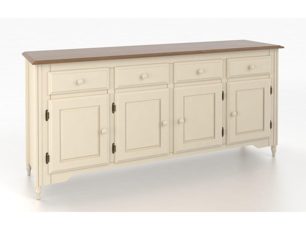 Canadel Custom Dining<b>Customizable</b> 72 Inch Buffet