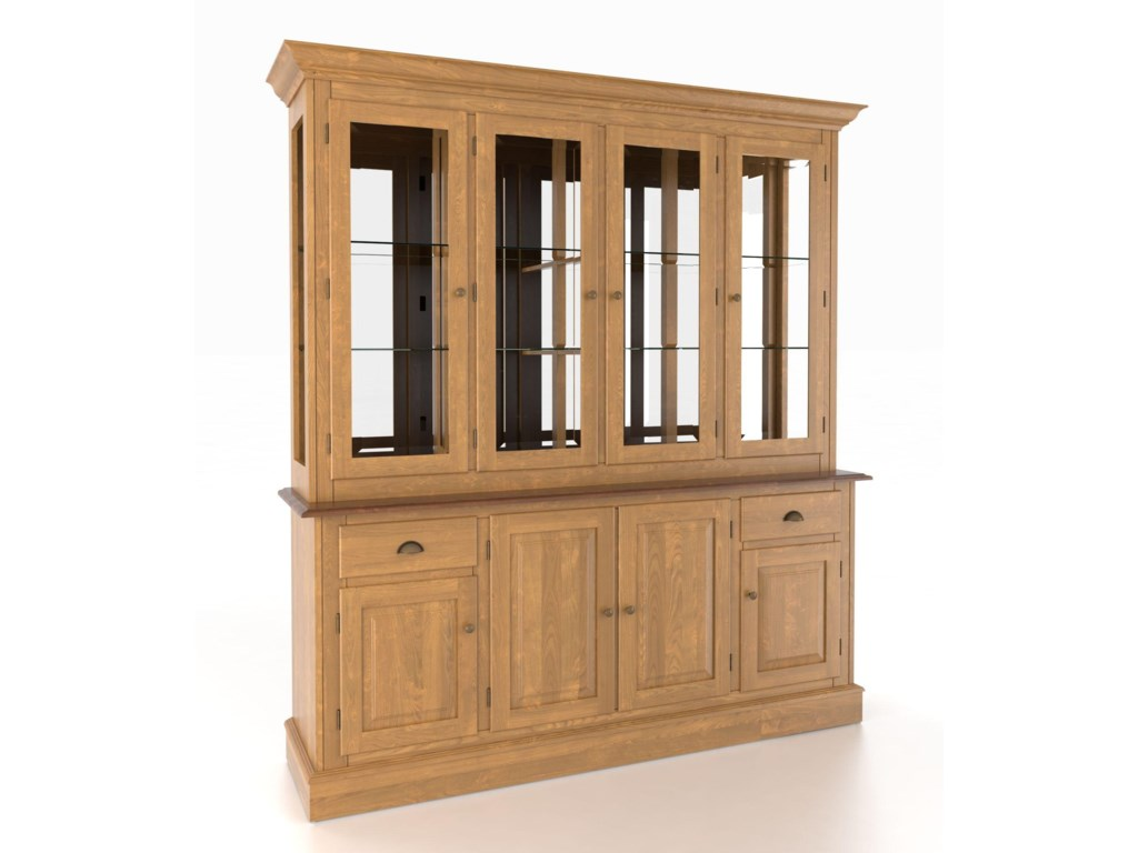 Canadel Custom Dining<b>Customizable</b> 72 Inch Hutch & Buffet
