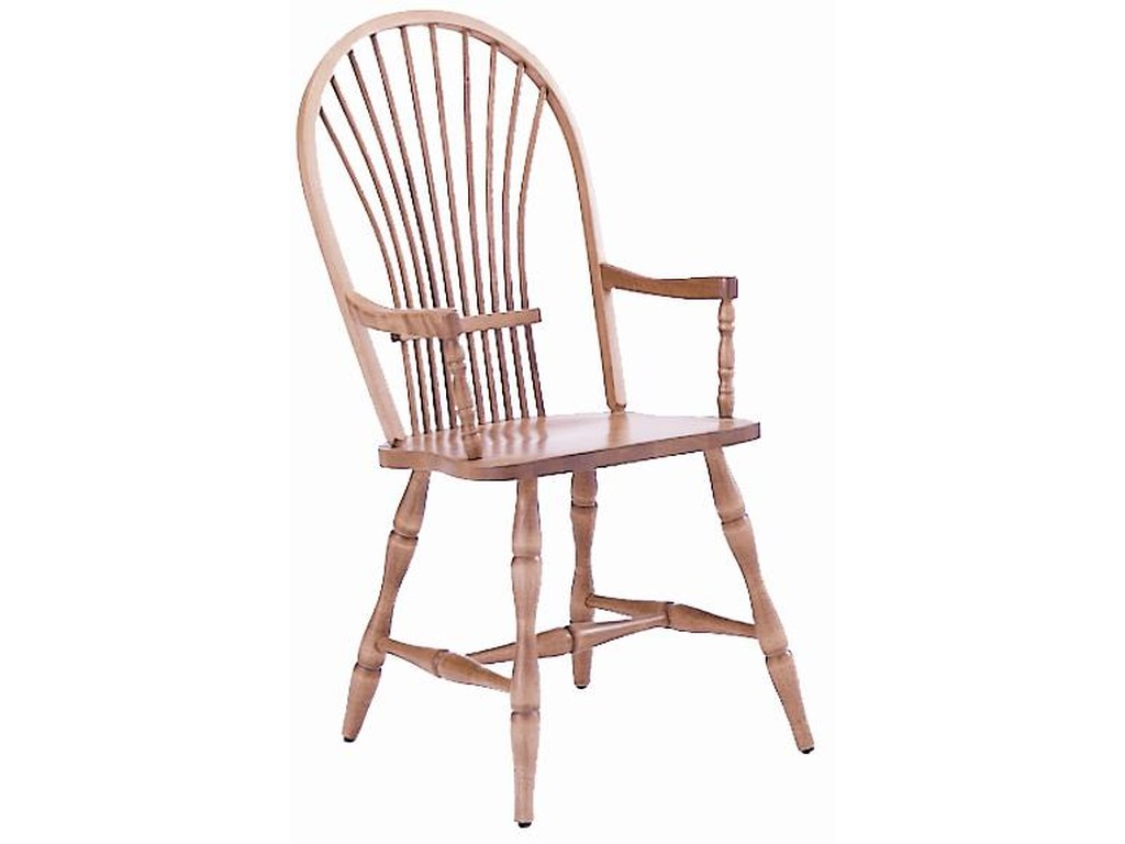 Canadel Custom Dining<b>Customizable</b> Windsor Arm Chair