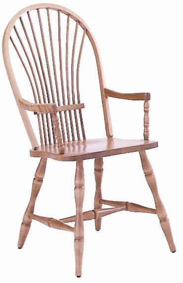 Canadel Custom Dining<b>Customizable</b> Windsor Arm Chair