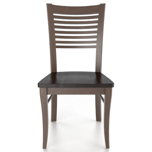 Canadel Custom Dining Customizable Ladderback Side Chair