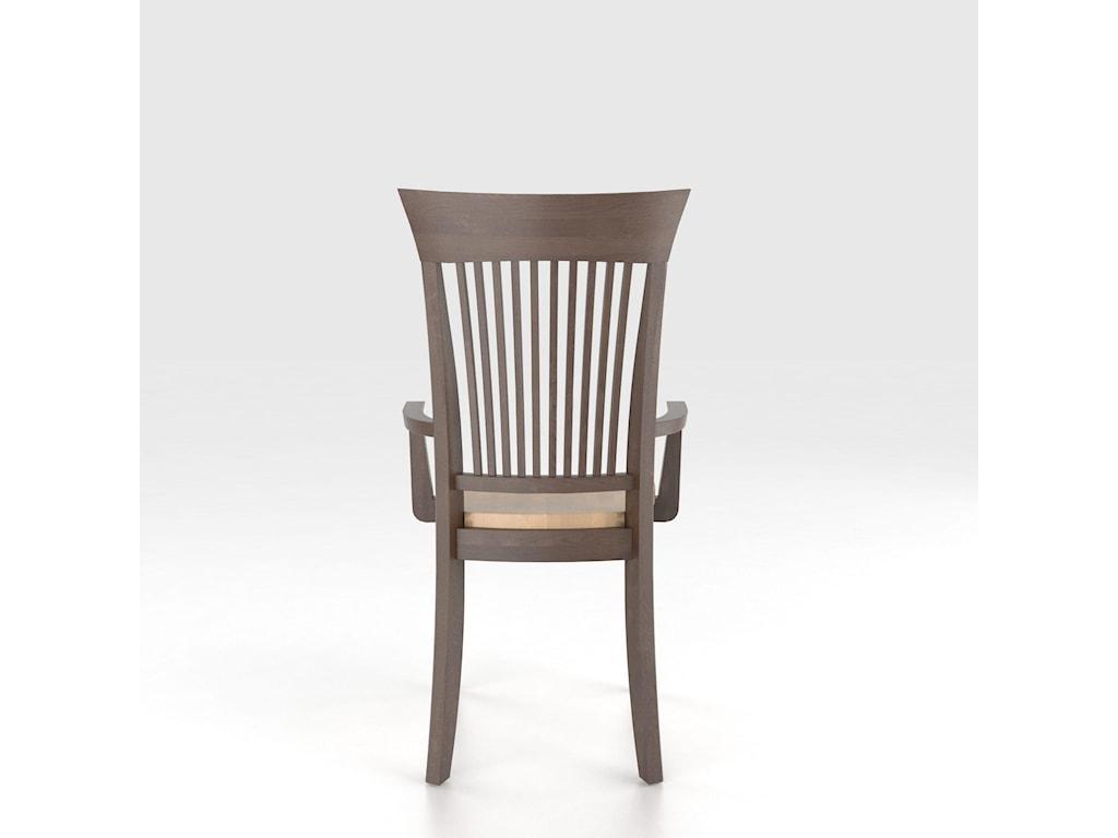 Canadel Custom Dining<b>Customizable</b> Armchair - Wood Seat