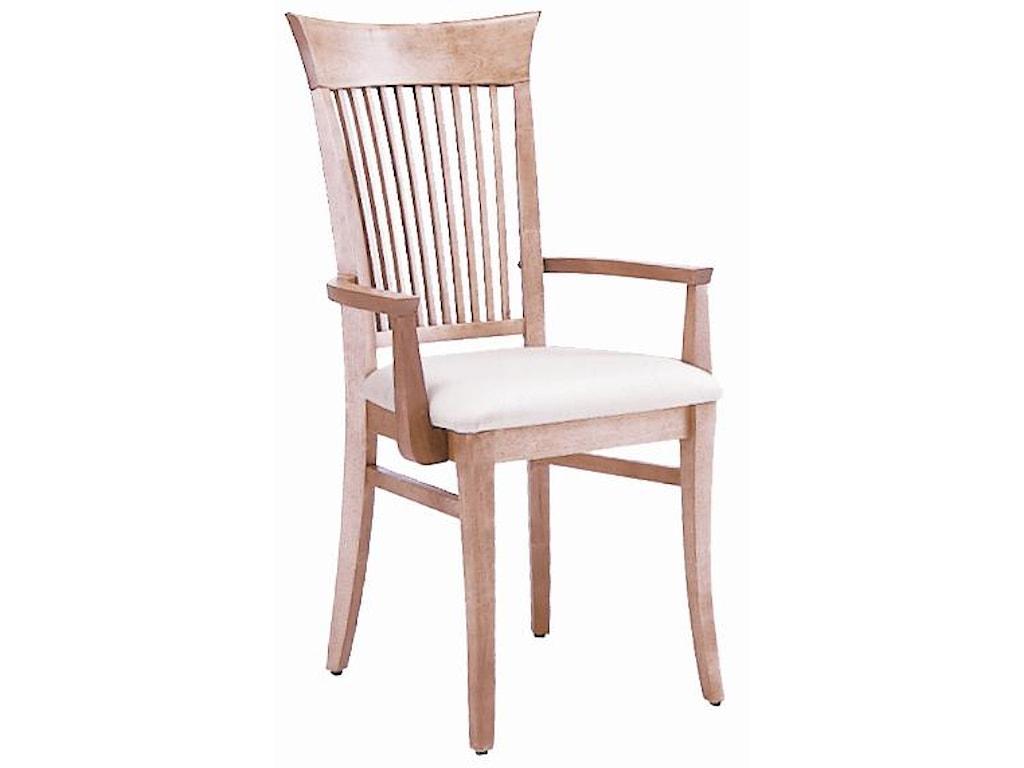 Canadel Custom Dining<b>Customizable</b> Upholstered Armchair