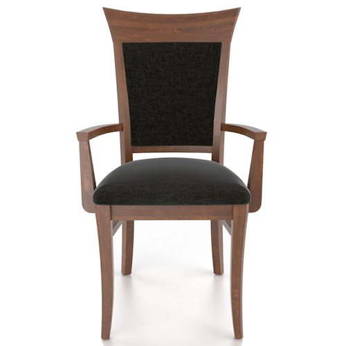 Canadel Custom Dining Customizable Upholstered Armchair