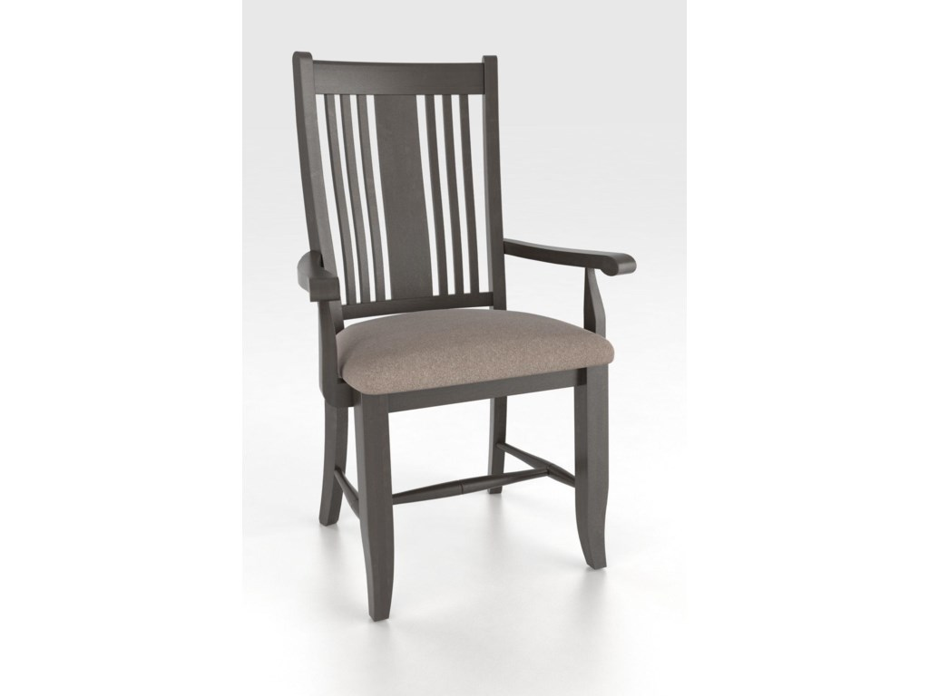Canadel Custom Dining<b>Customizable</b> Upholstered Arm Chair