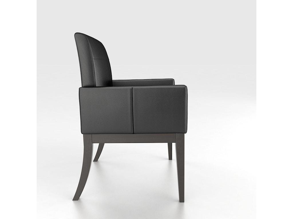 Canadel Custom Dining<b>Customizable</b> Upholstered Arm Chair