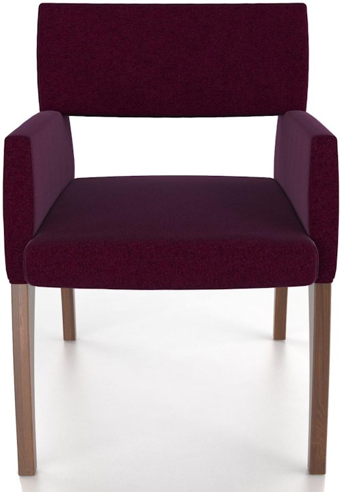 Canadel Custom Dining Customizable Upholstered Arm Chair