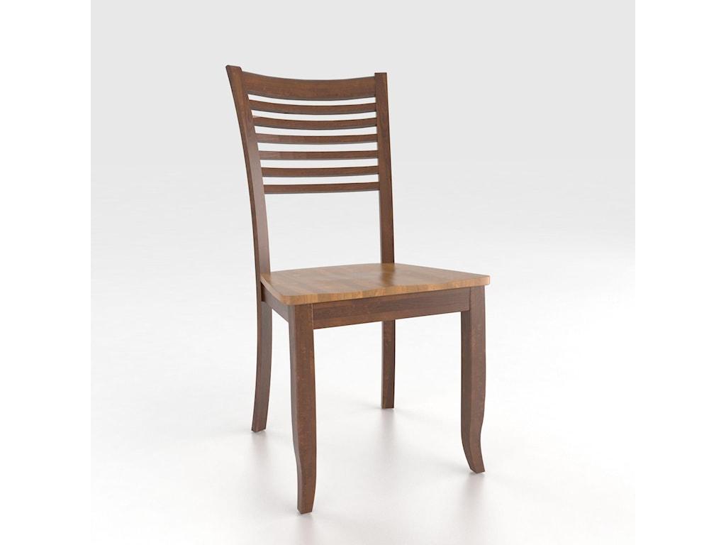 Canadel Custom Dining<b>Customizable</b> Side Chair - Wood Seat