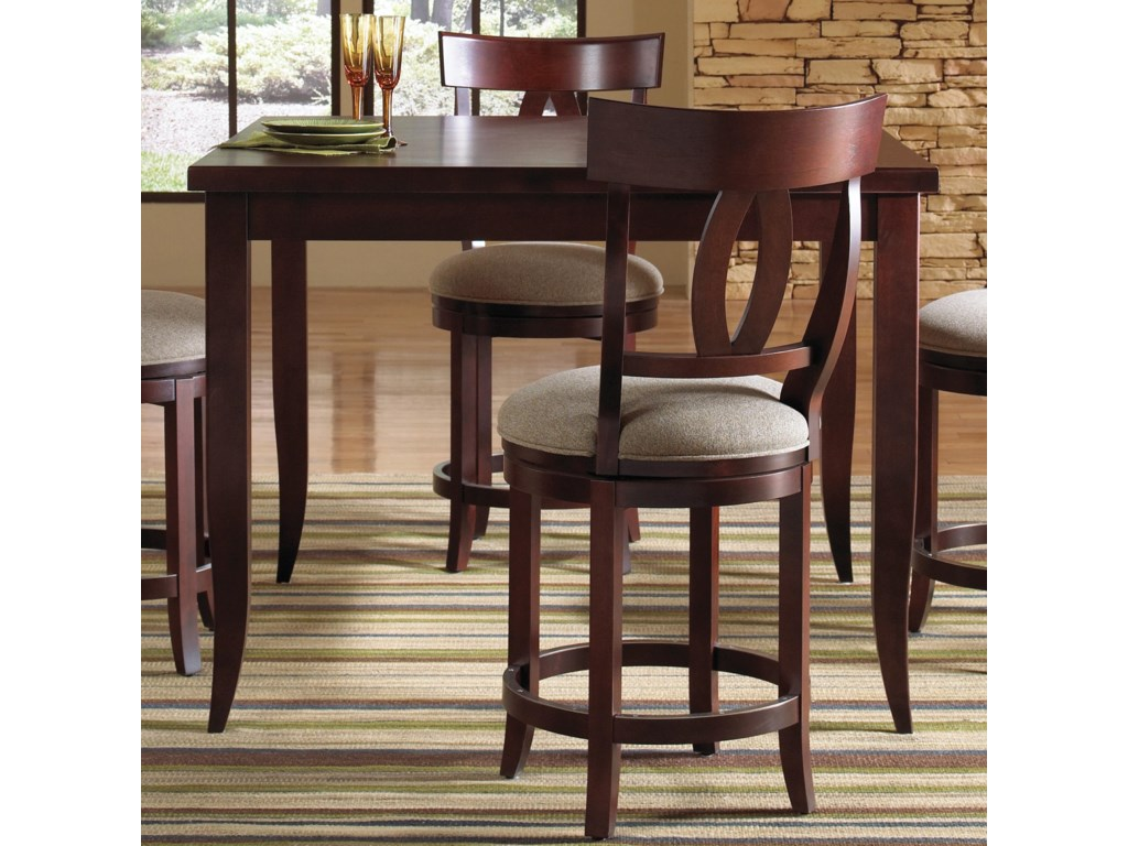 Canadel Custom Dining - High Dining<b>Customizable</b> Square Counter Table