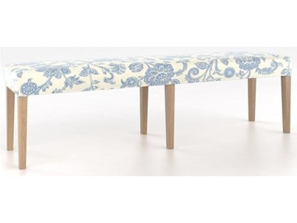 Canadel Custom DiningCustomizable Dining Bench