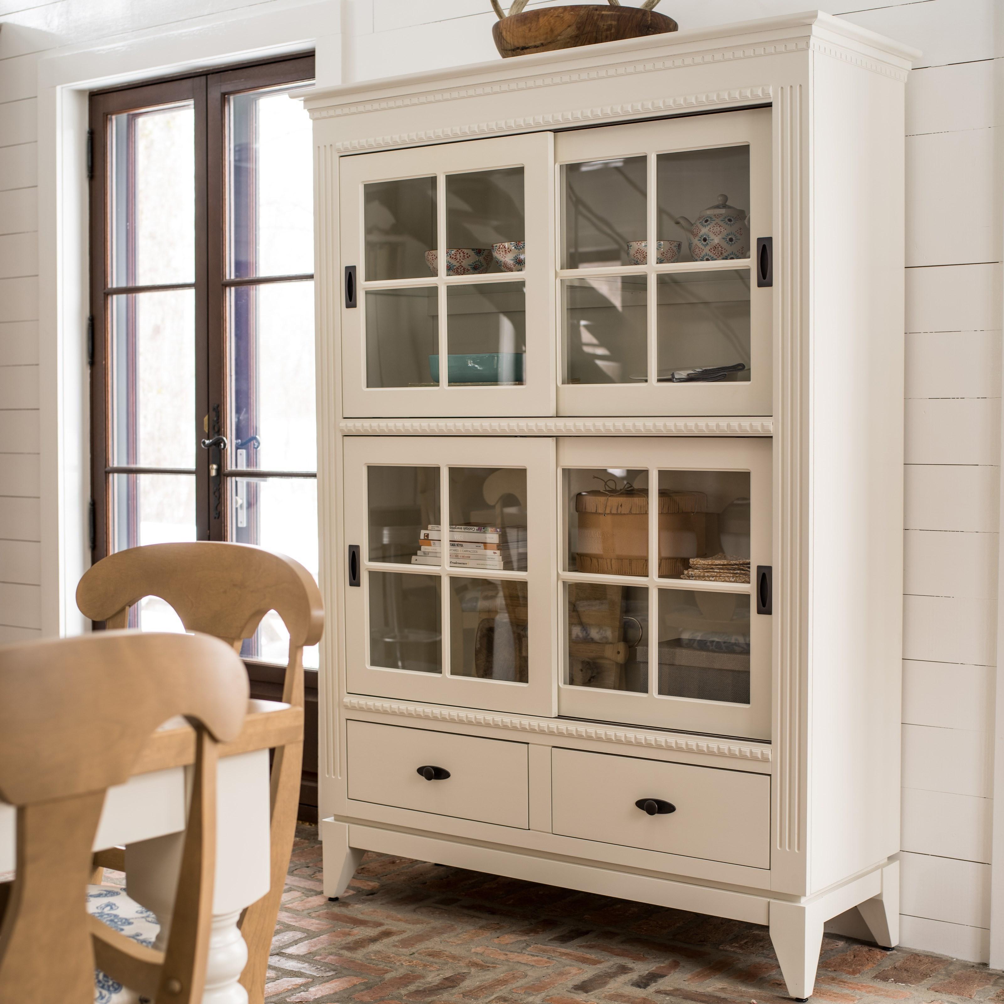 Customizable Buffet/Display Cabinet