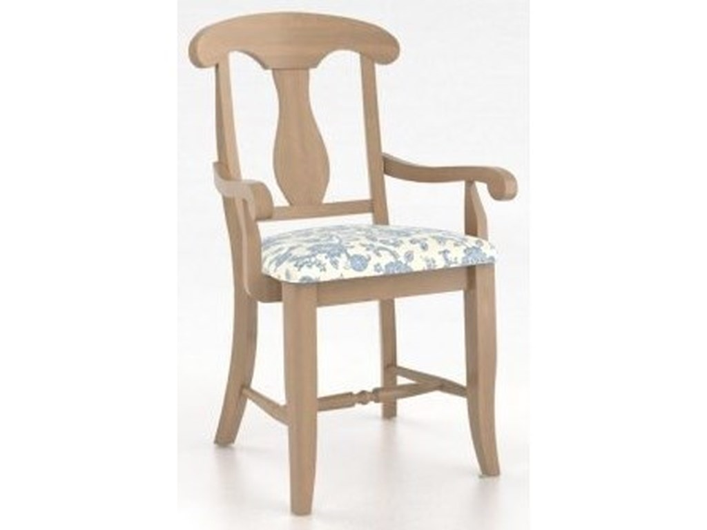 Canadel Custom DiningCustomizable Arm Chair