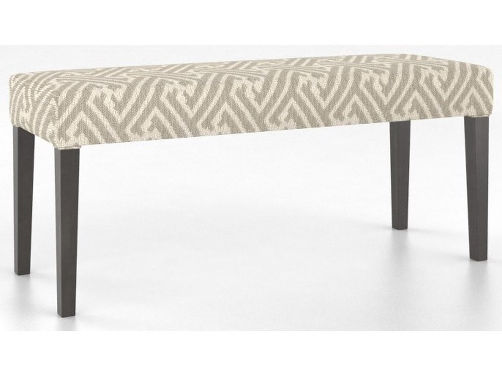 Canadel Core - Custom DiningCustomizable Upholstered Bench
