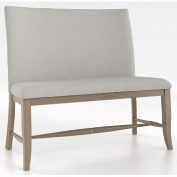 Canadel Custom DiningCustomizable Upholstered Bench