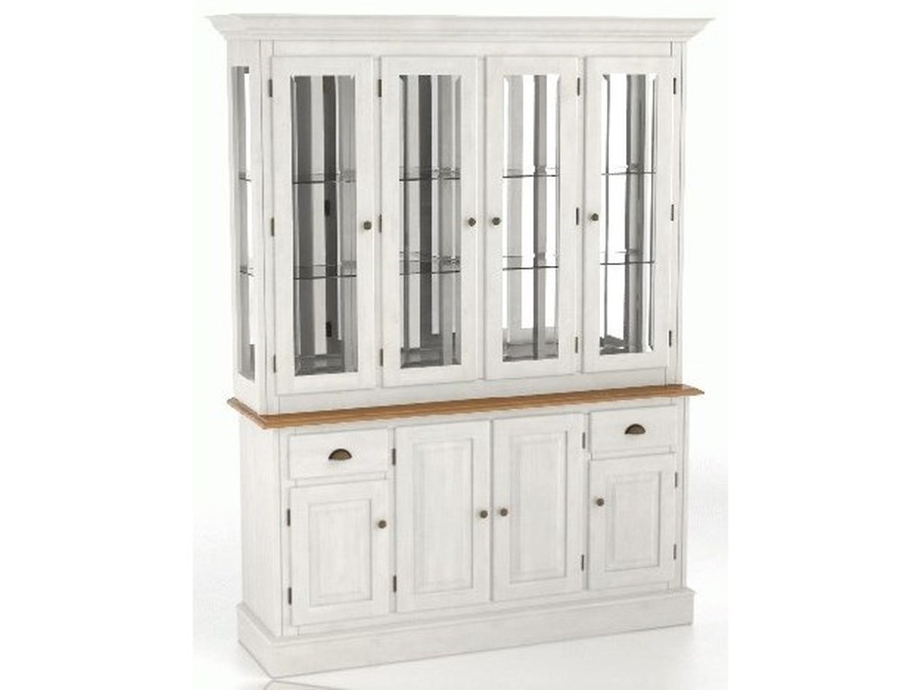 Canadel Core - Custom DiningCustomizable Buffet & Hutch