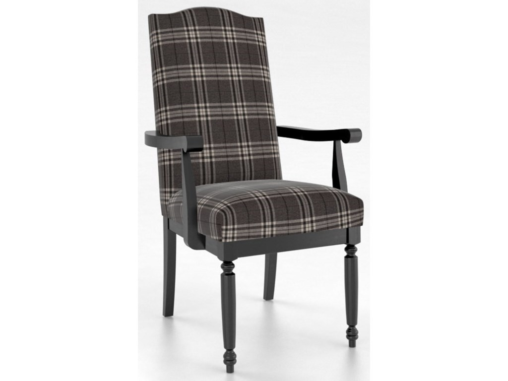 Canadel Custom DiningCustomizable Upholstered Arm Chair