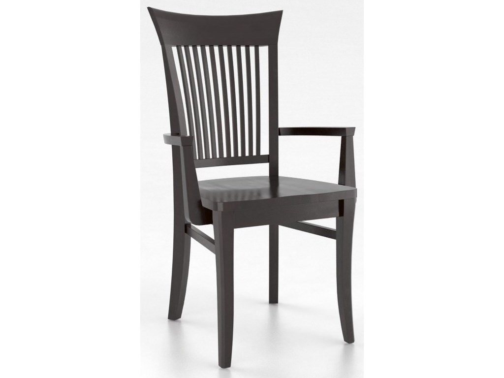 Canadel Core - Custom DiningCustomizable Dining Arm Chair