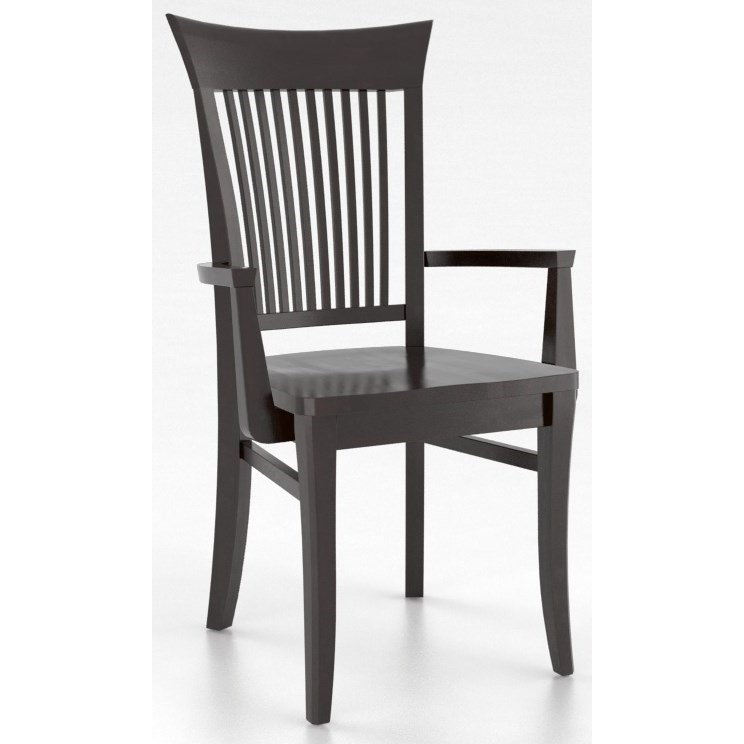 Canadel Custom Dining Customizable Dining Arm Chair