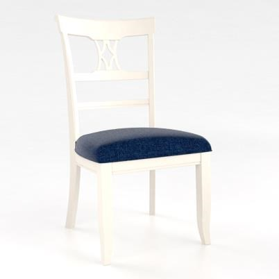 Canadel Custom Dining Customizable Side Chair With Upholstered Seat
