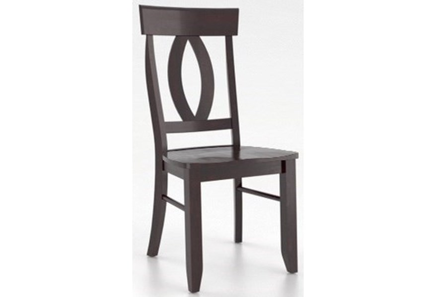 Canadel Core Custom Dining Customizable Side Chair Turk Furniture Dining Side Chairs
