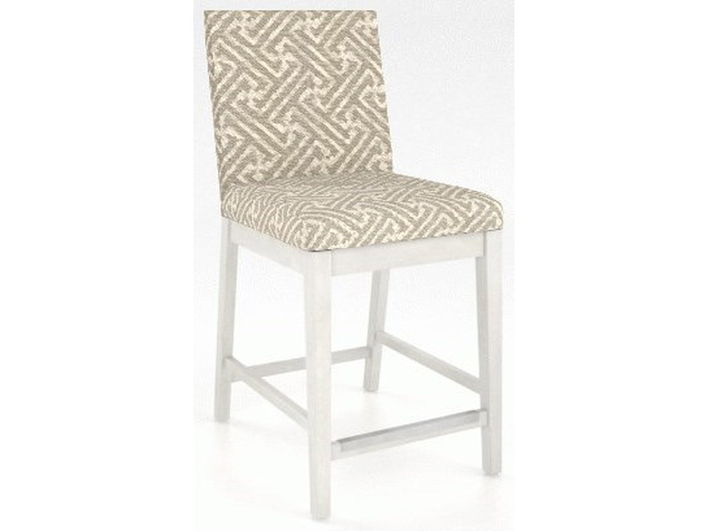 Canadel Core - Custom DiningCustomizable Upholstered Counter Stool