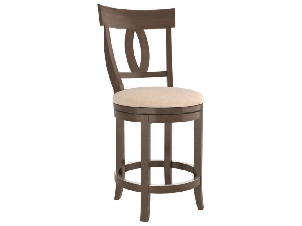 Canadel Core - Custom DiningCustomizable Swivel Counter Stool