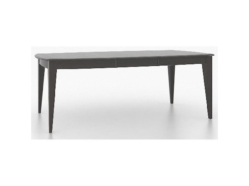 Canadel Core - Custom DiningCustomizable Boat Shape Dining Table Set