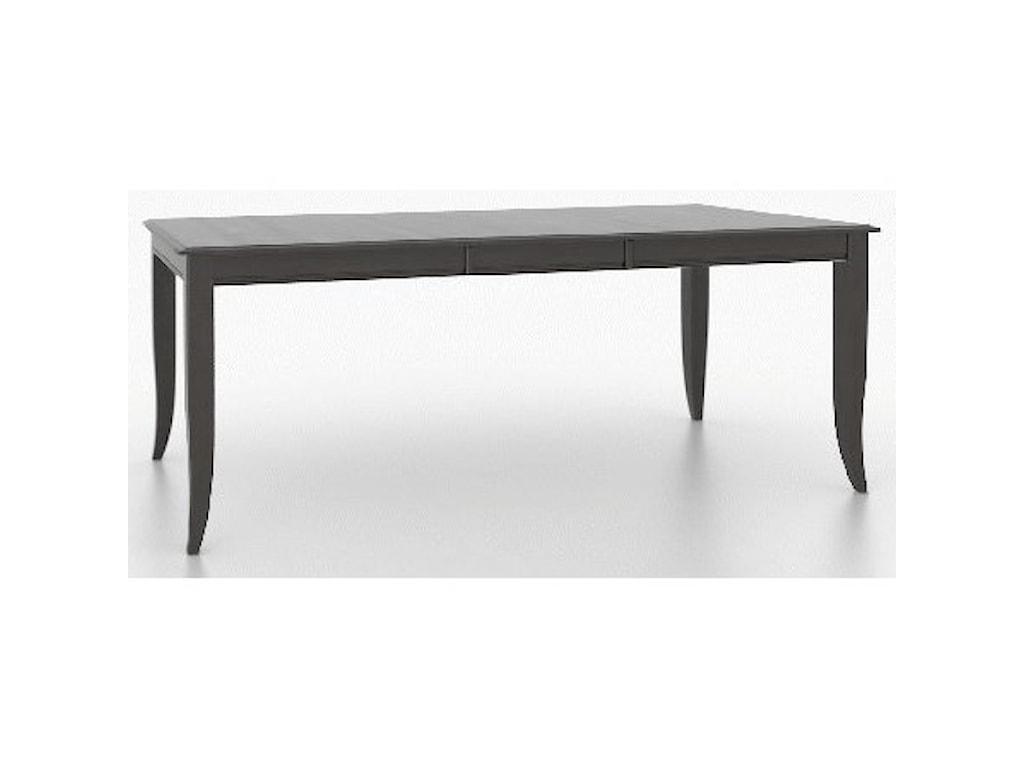 Canadel Core - Custom DiningCustomizable Rectangular Table