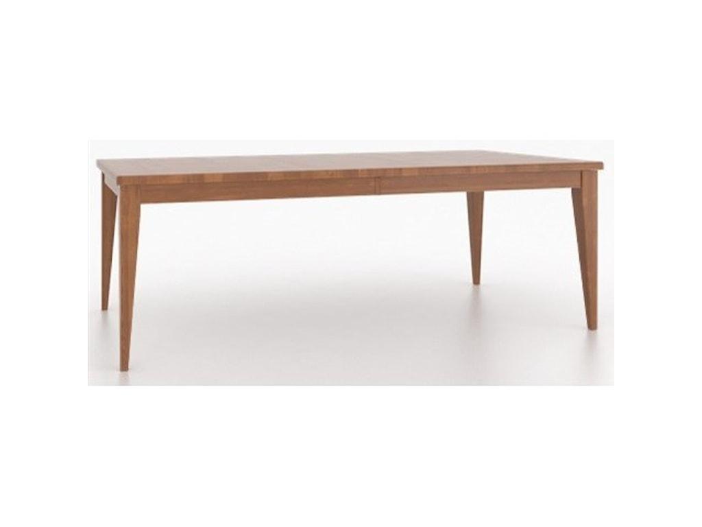 Canadel Custom DiningCustomizable Rectangular Dining Table