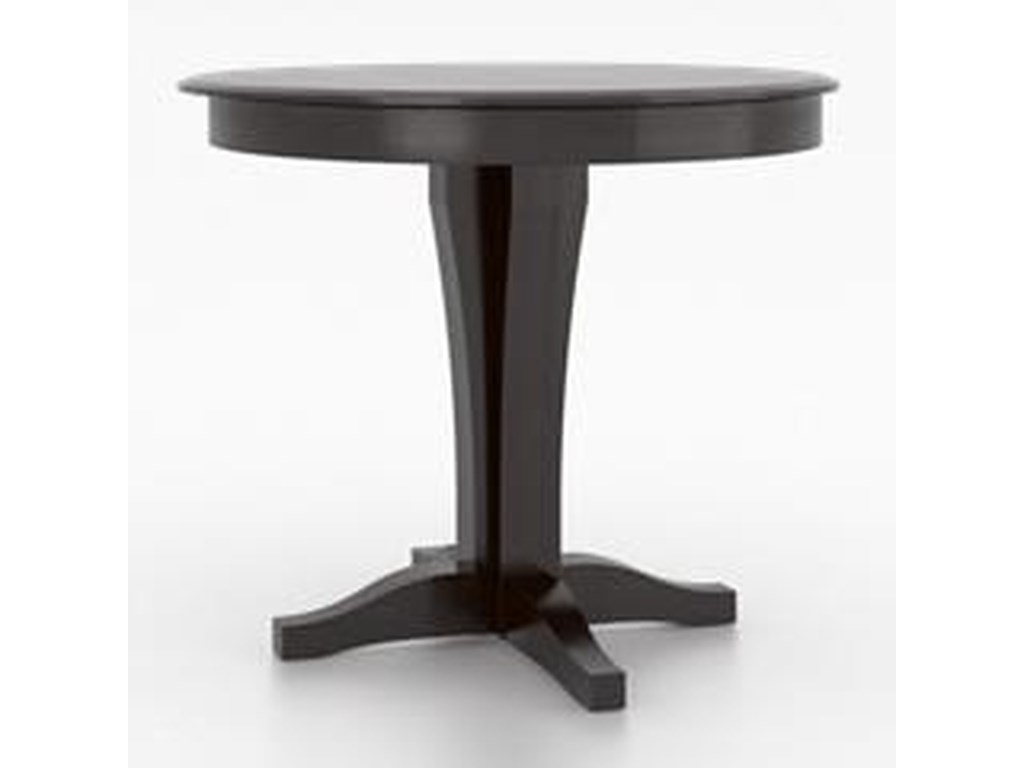 Canadel Custom DiningCustomizable Round Counter Table