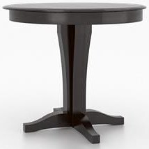 Canadel Custom Dining Customizable Round Counter Table
