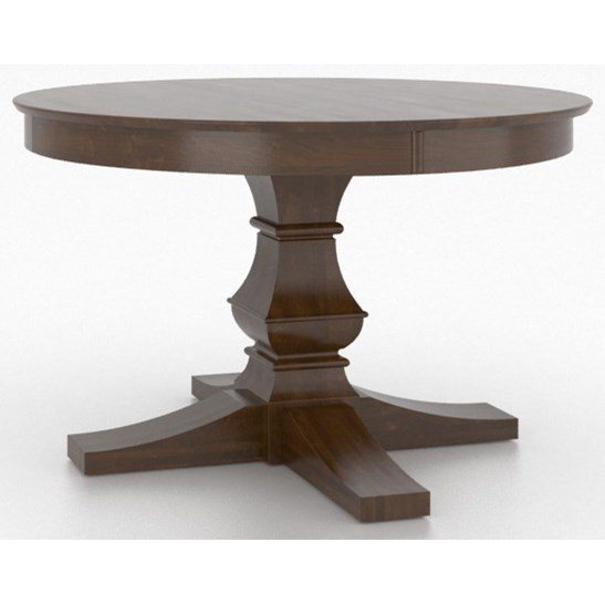 Canadel Custom Dining Customizable Round Pedestal Table ...