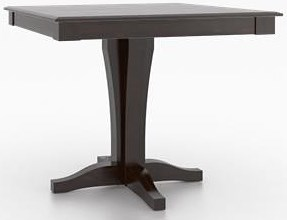 Canadel Custom Dining Customizable Square Counter Table