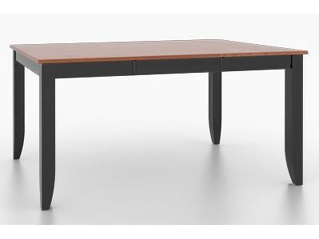 Canadel Custom DiningCustomizable Square/Rectangular Dining Table