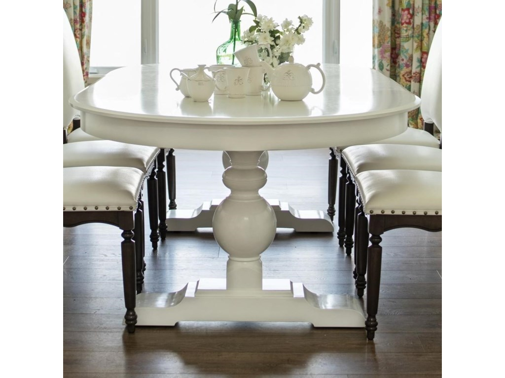 Canadel Custom DiningCustomizable Oval Dining Table