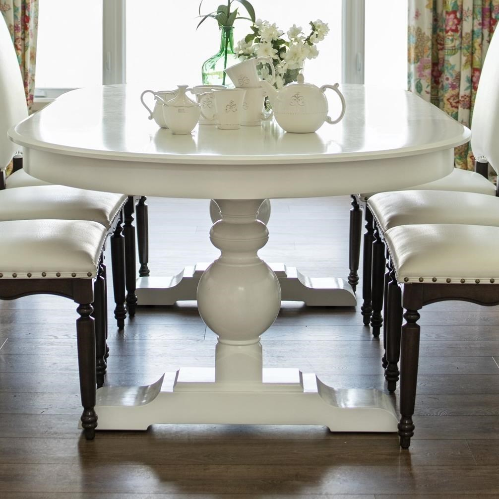 Lovely Canadel Custom DiningCustomizable Oval Dining Table ...