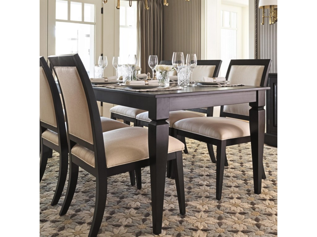 Canadel Custom Dining Customizable Rectangular Dining Table | Darvin ...