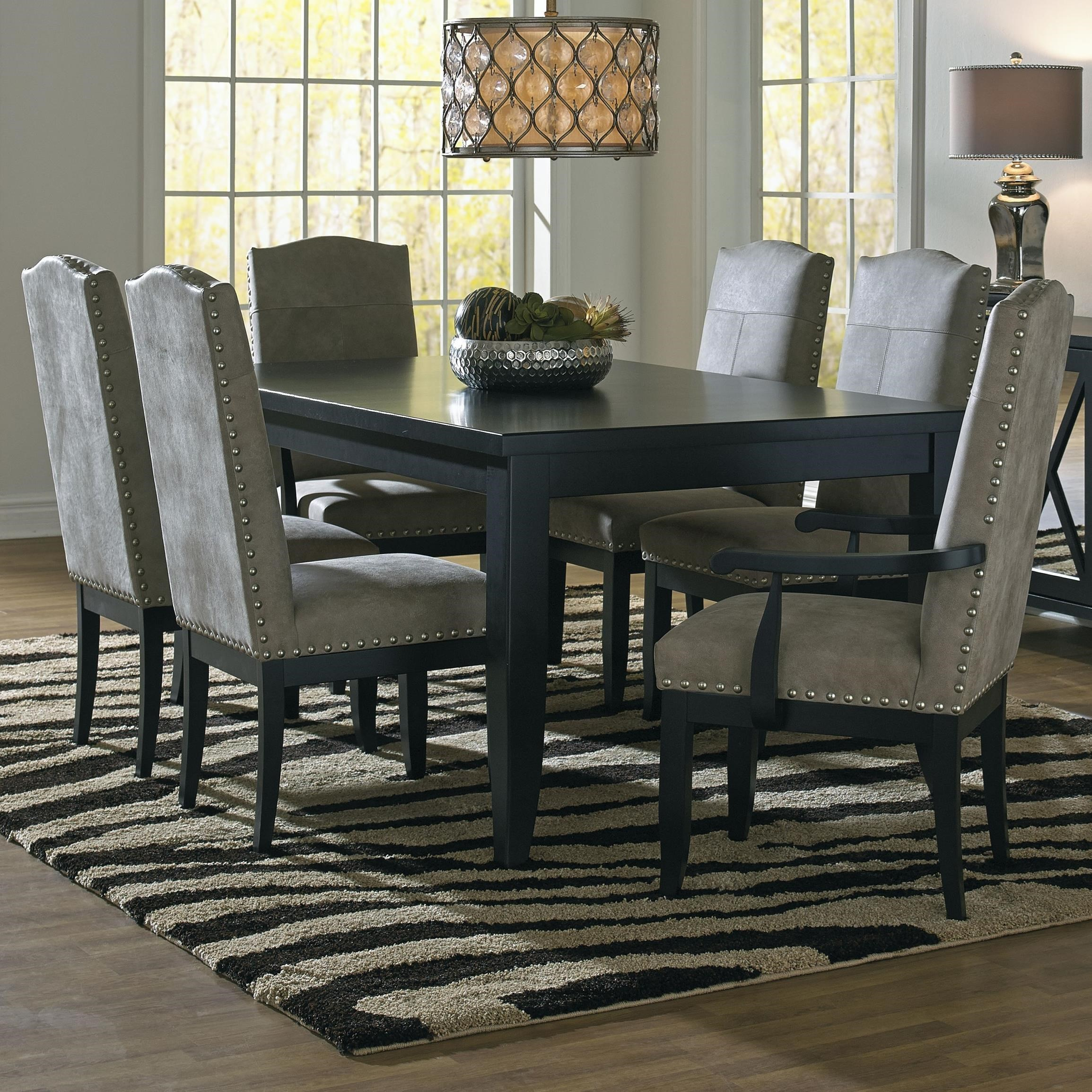 Canadel Custom DiningCustomizable Rectangular Dining Table Set ...