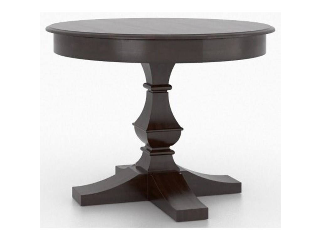 Canadel Custom DiningCustomizable Round Dining Table Set